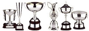 All types of trophies & awards in store & in our free catagloue